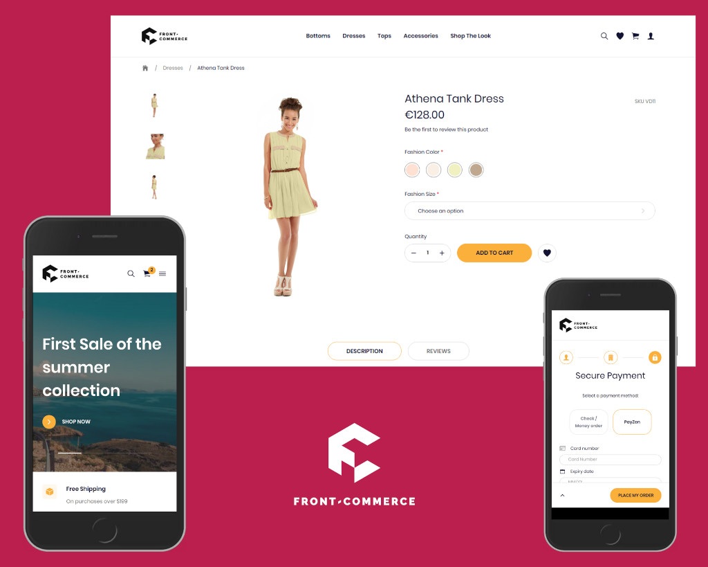 Front-Commerce new theme